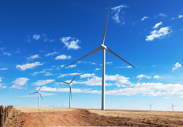 Wind Turbines, El Cabo Wind Farm, Torrance County, New Mexico