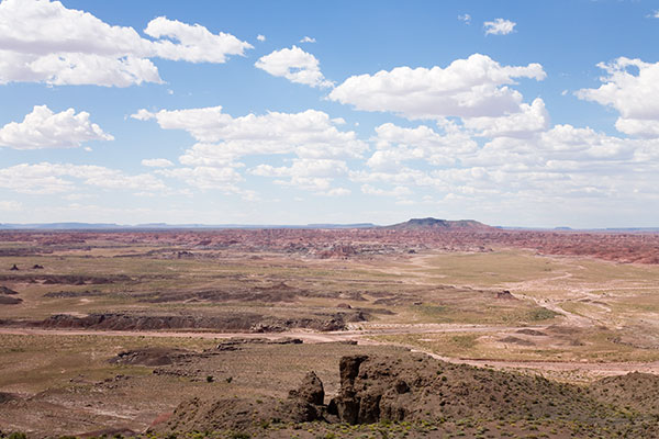 View from Pintado Point, Painted Desert, Petrified Forest National Park, Arizona