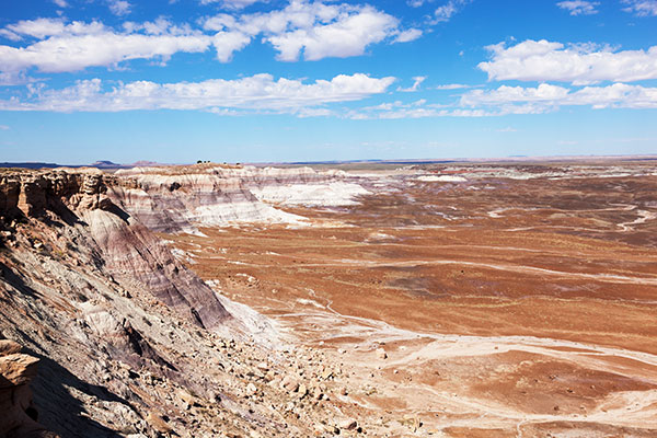 Scene from Blue Mesa Road, Petrified Forest National Park, Arizona
